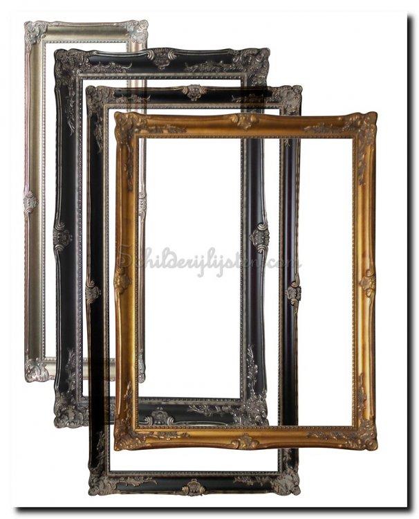 Lijst 61 X 91.Schilderijlijst Grimaldi Binnenmaat 61x91 5cm