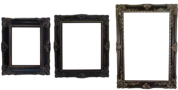 Favoriete Barok schilderijlijst Grimaldi - schilderijlijsten.com BG97