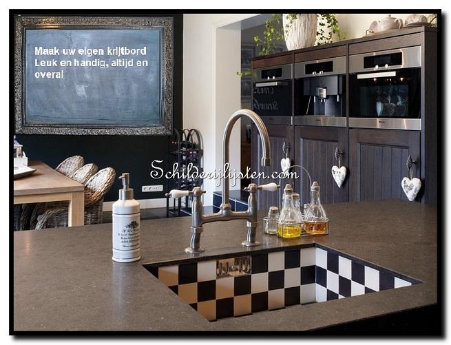 Krijtbord voor keuken ~ beste ideen over huis en interieur